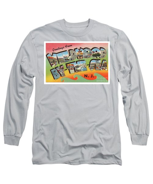 Wildwood Greetings - Version 3 Long Sleeve T-Shirt