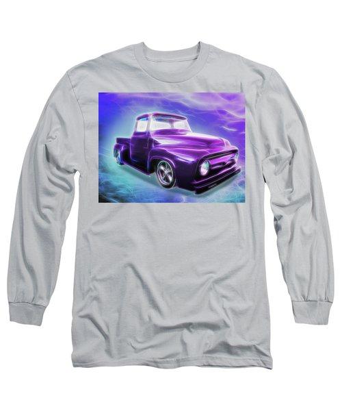 1956 Ford Truck Long Sleeve T-Shirt