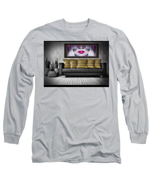 Lady Fashion Beauty Long Sleeve T-Shirt