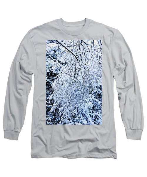 30/01/19  Rivington. Snow Covered Branches. Long Sleeve T-Shirt