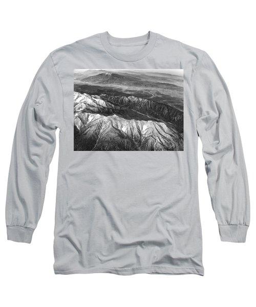 35,000 Feet Over Utah Long Sleeve T-Shirt