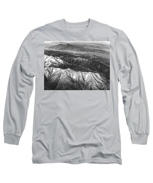 35,000 Feet Over Utah Long Sleeve T-Shirt