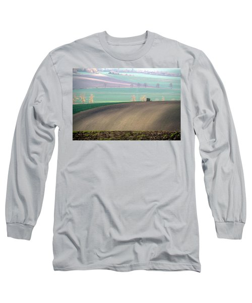Long Sleeve T-Shirt featuring the photograph Autumn In South Moravia 5 by Dubi Roman