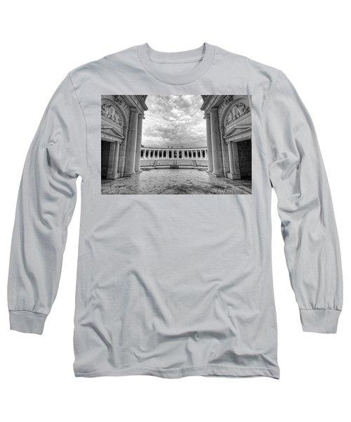 Arlington National Cemetery Memorial Amphitheater Long Sleeve T-Shirt
