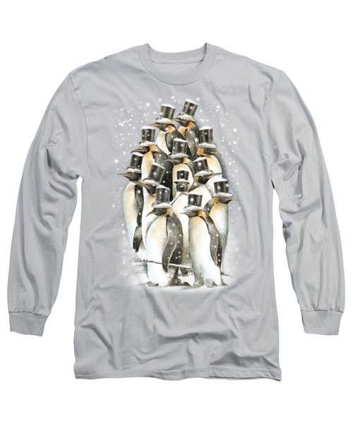 A Gathering In The Snow Long Sleeve T-Shirt