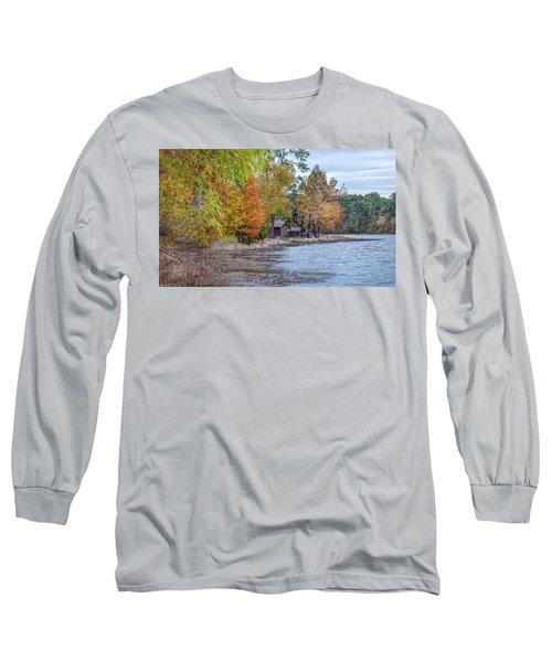 A Peaceful Place On An Autumn Day Long Sleeve T-Shirt