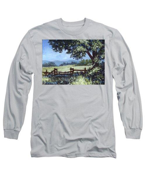 A Shady Rest Sketch Long Sleeve T-Shirt