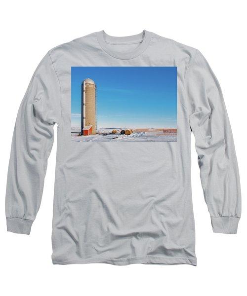 A Silo Alone Long Sleeve T-Shirt