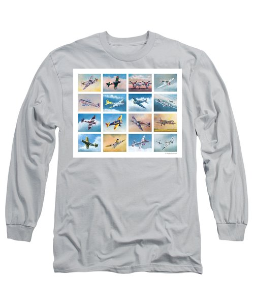 Airplane Poster Long Sleeve T-Shirt