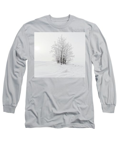 Alone On The Prairie Long Sleeve T-Shirt