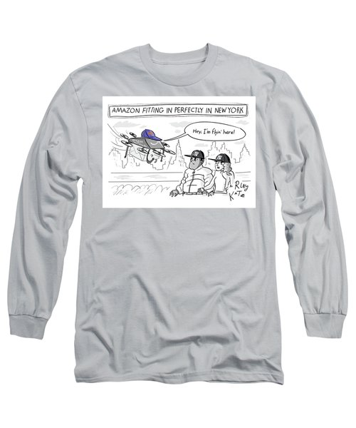 Amazon Fitting In Perfectly Long Sleeve T-Shirt