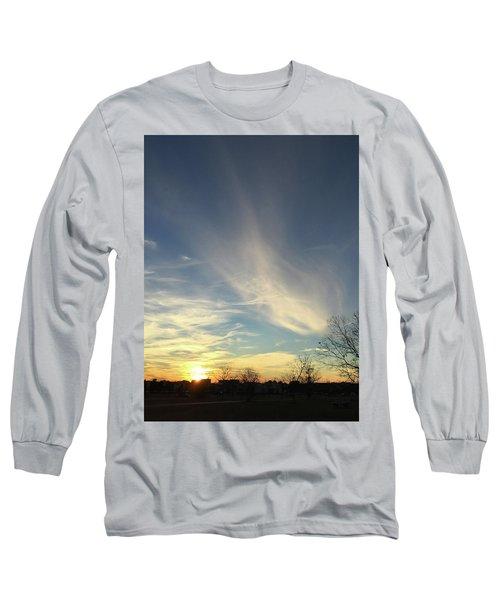 Angel Cloud Sunset Long Sleeve T-Shirt