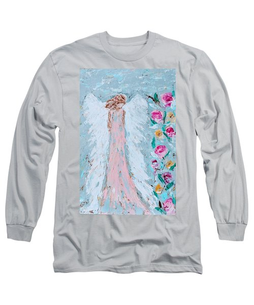 Angel For Childbirth And Long Sleeve T-Shirt