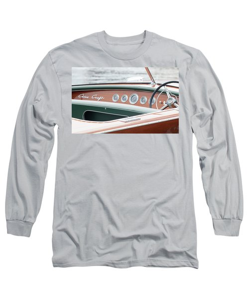 Antique Wooden Boat Dashboard 1306 Long Sleeve T-Shirt