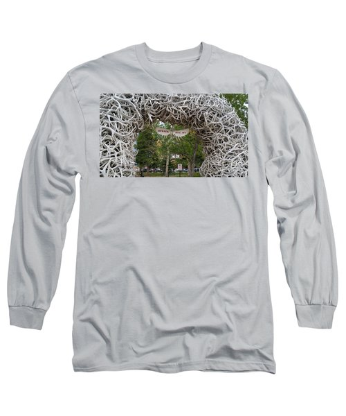 Antler Arch  Long Sleeve T-Shirt