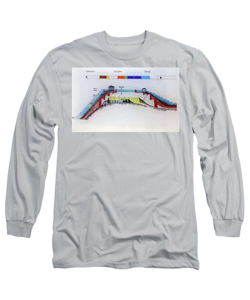 Archaelology Of The Remains Of The Walls Of Troy Long Sleeve T-Shirt