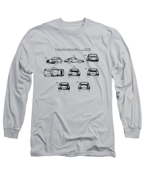 Porsche 911 Patent Long Sleeve T-Shirt