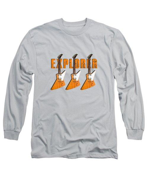 Gibson Explorer 1958 Long Sleeve T-Shirt