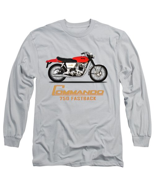 Norton Commando Fastback Long Sleeve T-Shirt