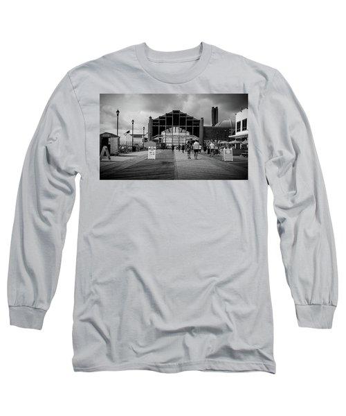 Asbury Park Boardwalk Long Sleeve T-Shirt
