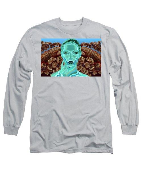 Ask Long Sleeve T-Shirt