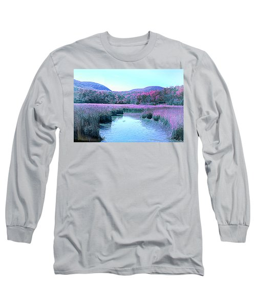 Autumn Abstract Long Sleeve T-Shirt