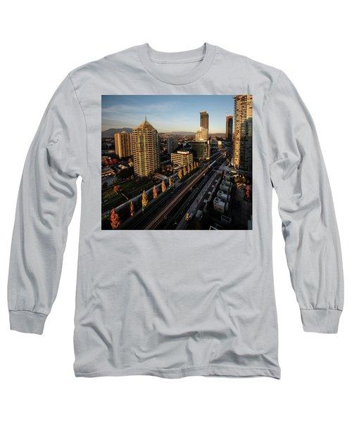 Autumn In Burnaby Long Sleeve T-Shirt
