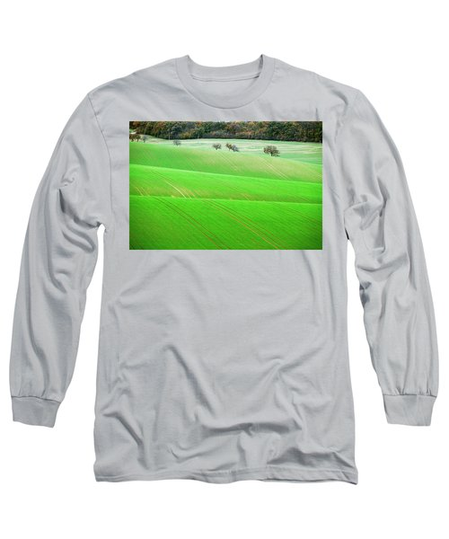 Long Sleeve T-Shirt featuring the photograph Autumn In South Moravia 12 by Dubi Roman