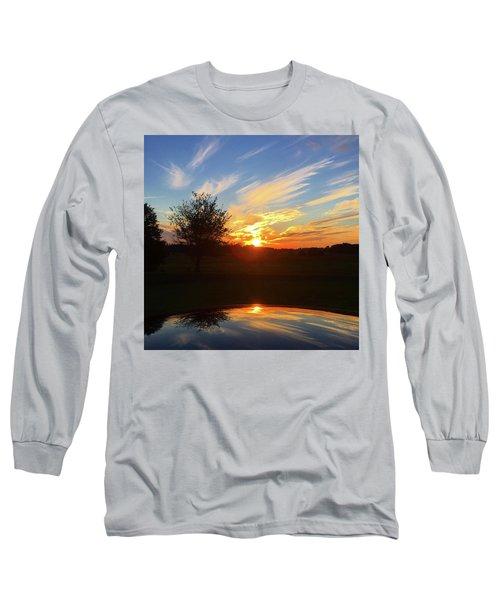 Autumn Sunset Long Sleeve T-Shirt