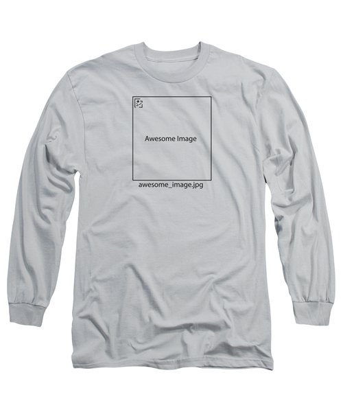 Awesome Missing Jpeg Image Long Sleeve T-Shirt