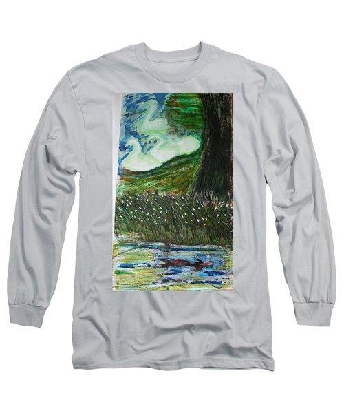 Beauty Is His Abusive Kingdom Long Sleeve T-Shirt