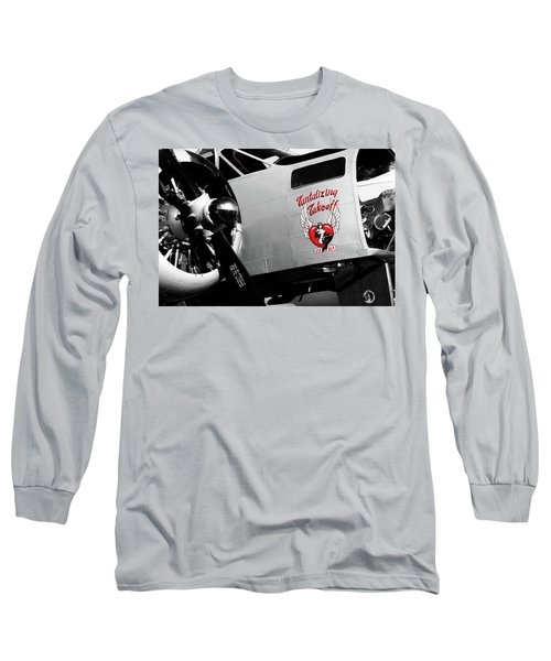 Beech At-11 In Selective Color Long Sleeve T-Shirt
