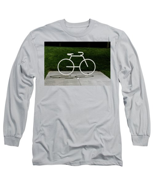 Long Sleeve T-Shirt featuring the photograph Bicycle by Randy Scherkenbach