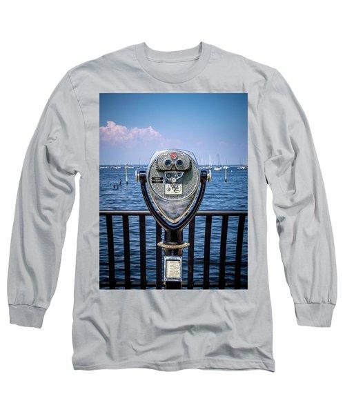 Binocular Viewer Long Sleeve T-Shirt