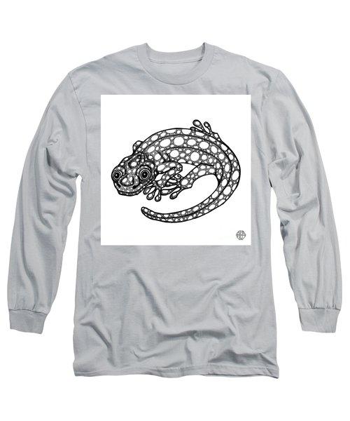 Blue Spotted Salamander Long Sleeve T-Shirt
