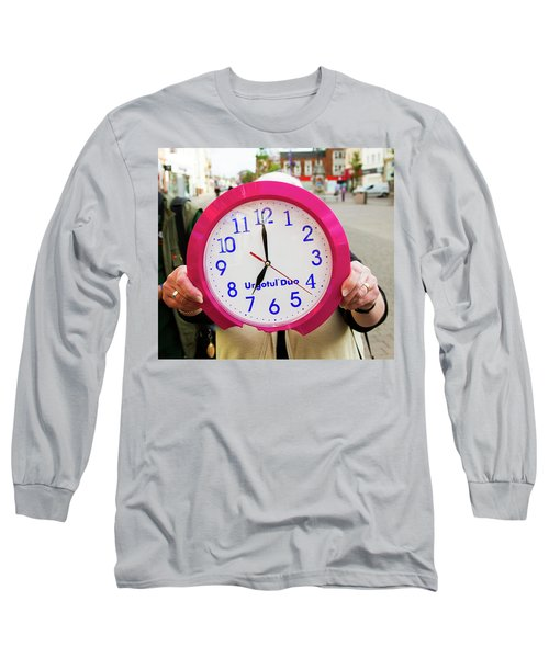 Broken Time Long Sleeve T-Shirt