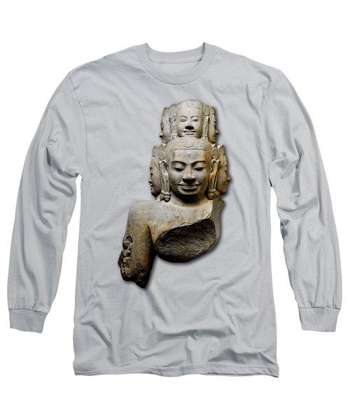Bust Of Hevajra Long Sleeve T-Shirt