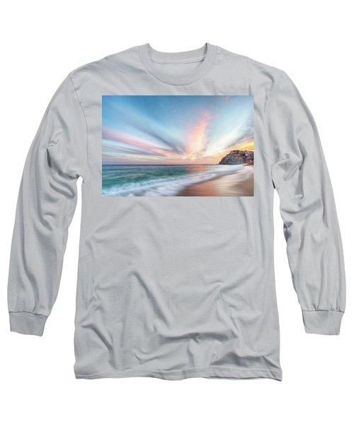 Cabo San Lucas Beach Sunset Mexico Long Sleeve T-Shirt