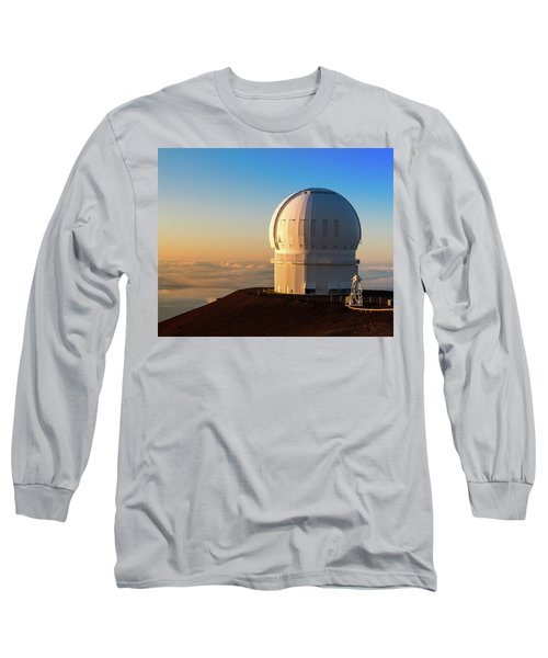 Canada-france-hawaii Telescope Long Sleeve T-Shirt