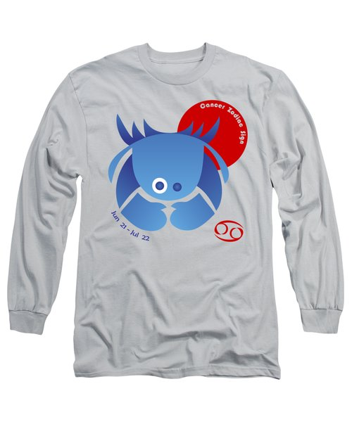 Cancer - Crab Long Sleeve T-Shirt