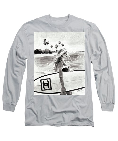 Chanel Surf In Paradise Long Sleeve T-Shirt