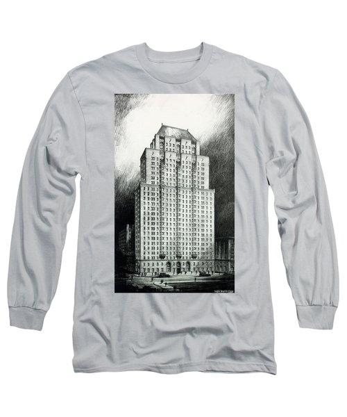 Chateau Crillon Long Sleeve T-Shirt