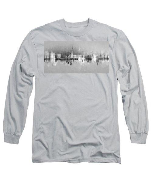 City In Black Long Sleeve T-Shirt