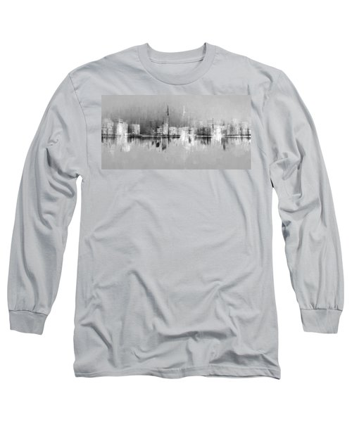 City In Black Long Sleeve T-Shirt
