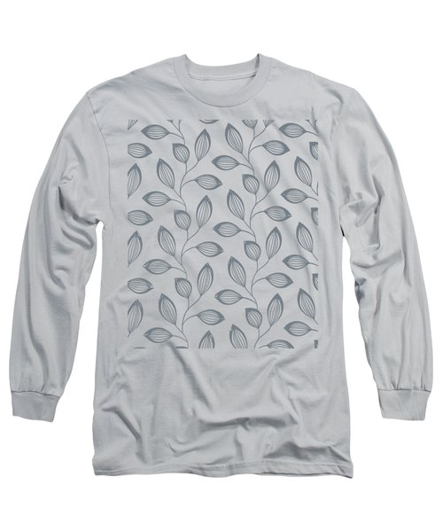 Climbing Leaves Repeat Pattern Long Sleeve T-Shirt