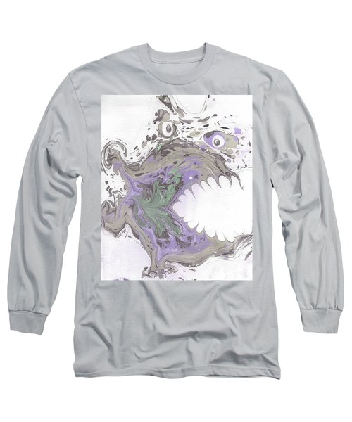 Clyde In The Morning  Long Sleeve T-Shirt