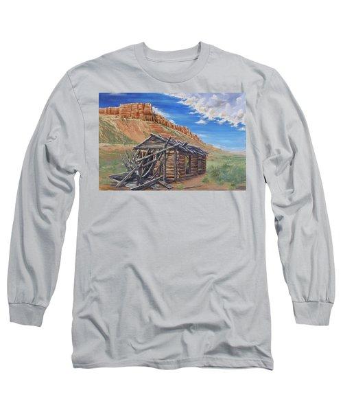 Colorado Prarie Cabin Long Sleeve T-Shirt