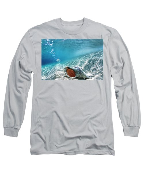 Conch Shell Bubbles Long Sleeve T-Shirt