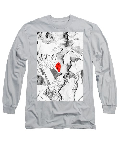 Cosmetic Collage Long Sleeve T-Shirt
