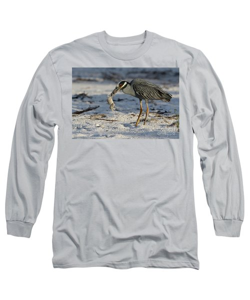 Crab For Breakfast Long Sleeve T-Shirt